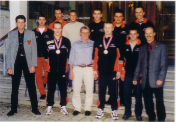 Weltmeister Empfang 2001